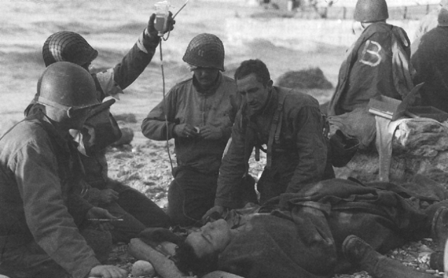Omaha Beach Blood